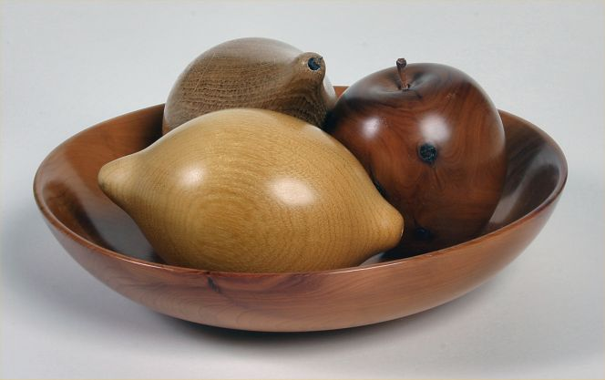 Bowl of Fruit by Ronald Hewlett
