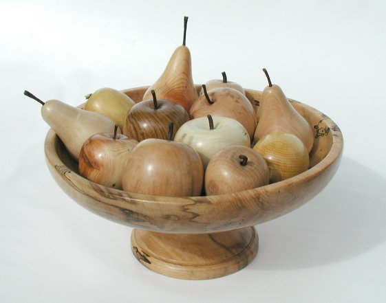 Fruit in Bowl by Peter Miles